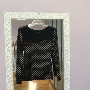 NWOT, H&M Sexy polka dot top.  Great condition.